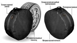Beltex Чехол для запасного колеса XXL R16-20 (85x27cm)