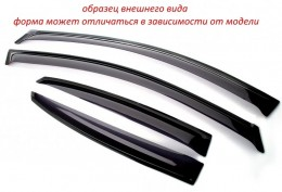 """Faber"" Polska Дефлекторы окон KIA SORENTO II (2009-2012;2012-2014; кузовXM)"