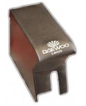 Подлокотник Deawoo Lanos черный с вышивкой