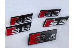Эмблема шильдик Audi S3, S4, S5, S6, S8 на решетку радиатора