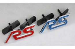 Эмблема шильдик Ford RS на решетку радиатора
