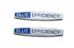 Эмблема надпись Mercedes blueefficiency