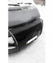Probass Tuning Утеплитель радиатора (с клапанами) Fiat Ducato 2006-2014 черный