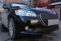 Зимняя заглушка на решетку радиатора Peugeot Boxer 2014- (решетка)