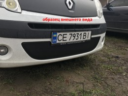 Зимняя заглушка на решетку радиатора Renault Trafic/Opel Vivaro 2001-2006 (бампер низ)