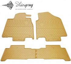Stingray Коврики резиновые Acura MDX 2007-2013 бежевые