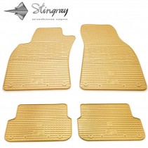 Stingray Коврики резиновые Audi A6 (С6) 2005-2011 бежевые