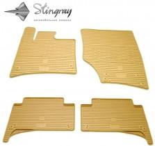 Stingray Коврики резиновые Audi Q7 05-15 БЕЖЕВЫЕ