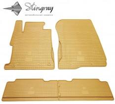 Stingray Коврики резиновые Honda Civic 4D sedan 2006-/2013- бежевые