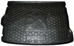 GAvto Коврики в багажник Peugeot P 308 (2014>) (хетчбэк)