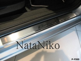 NataNiko Накладки на пороги FIAT BRAVO 2007-