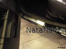 NataNiko Накладки на пороги FORD FUSION 2002-