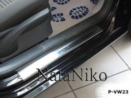 NataNiko Накладки на пороги VW POLO IV 5D 2001-2009