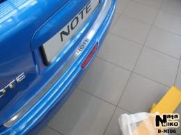 NataNiko Накладка на задний бампер Nissan Note 2006-2013