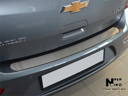 NataNiko Накладка на задний бампер Peugeot 308 SW