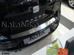 NataNiko Накладка на задний бампер Seat Altea 2004-