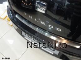 NataNiko Накладка на задний бампер Seat Toledo III 2005-2009