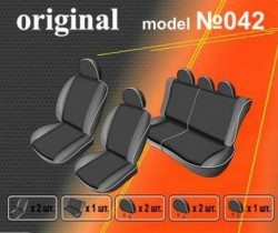 EMC-Elegant Чехлы на сидения Dacia Logan MCV 5 мест с 2006 г дел.