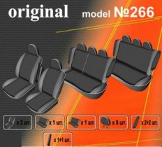 EMC-Elegant Чехлы на сидения Ford Tourneo Custom (8 мест) c 2013 г
