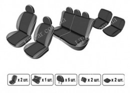 EMC-Elegant Чехлы на сидения Ford Tourneo Custom (9 мест) c 2013 г