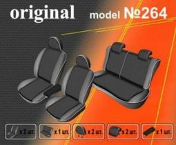 EMC-Elegant Чехлы на сидения Hyundai Accent (раздельный) с 2010 г
