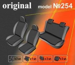 EMC-Elegant Чехлы на сидения Hyundai Accent (цельный) с 2010 г