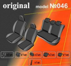 EMC-Elegant Чехлы на сидения Hyundai Accent с 2006-10 г