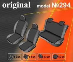 EMC-Elegant Чехлы на сидения Kia Rio III Sedan цельная с 2011 г