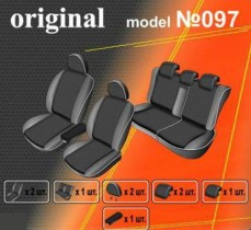 EMC-Elegant Чехлы на сидения Kia Sportage c 2004-10 г