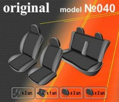 EMC-Elegant Чехлы на сидения Mitsubishi L 200 с 2006 г