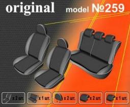 EMC-Elegant Чехлы на сидения Nissan Juke (YF15) с 2010 г