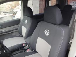 EMC-Elegant Чехлы на сидения Nissan Micra (K13) с 2010 г (цельная)