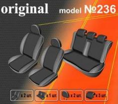 EMC-Elegant Чехлы на сидения Nissan Note c 2005-12 г эконом