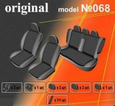 EMC-Elegant Чехлы на сидения Nissan Tiida с 2004-08 г