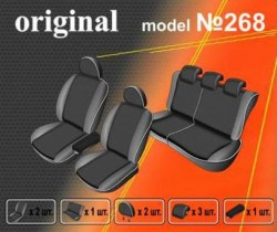 EMC-Elegant Чехлы на сидения Nissan Х-Treail с 2010 г