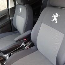 EMC-Elegant Чехлы на сидения Peugeot 301 Sedan с 2012 г дел.