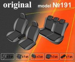 EMC-Elegant Чехлы на сидения Renault Fluence (раздельный) с 2009-12 г