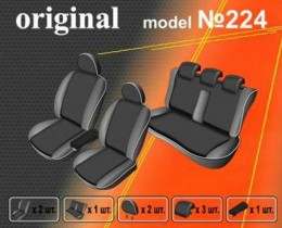 EMC-Elegant Чехлы на сидения Renault Fluence (цельный) с 2009-12 г