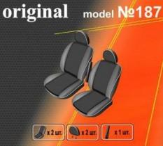 EMC-Elegant Чехлы на сидения Renault Kangoo (1+1) с 2004-07 г