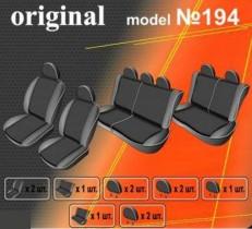 EMC-Elegant Чехлы на сидения Renault Logan MCV 7 мест (раздельный) с 2009-13 г