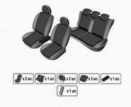 EMC-Elegant Чехлы на сидения Seat Altea XL с 2009 г без столиков