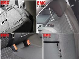 EMC-Elegant Чехлы на сидения Skoda Fabia (5J) Hatch (цельная) 2007 г