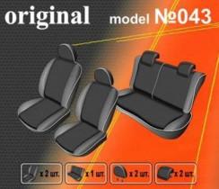 EMC-Elegant Чехлы на сидения Suzuki Swift с 2004-10 г (цельный)