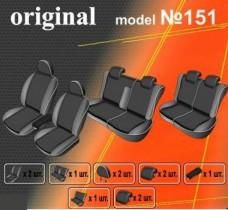 EMC-Elegant Чехлы на сидения Toyota Fortuner (7 мест) с 2005-08 г