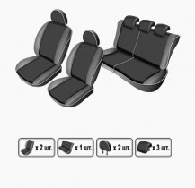 EMC-Elegant Чехлы на сидения ВАЗ Lada Kalina 2118 sed с 2004 г