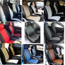 FavoriteLux Авточехлы на сидения Volkswagen Caddy 5 мест с 2004-10 г