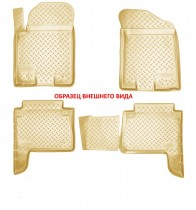Unidec Коврики салонные для Hyundai Getz (TB) (2002-2011) Бежевый