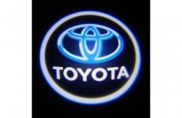 Проекция логотипа Toyota. Проводные проекторы 5Вт