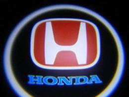 Проекция логотипа Honda. Беспроводные проекторы 7Вт