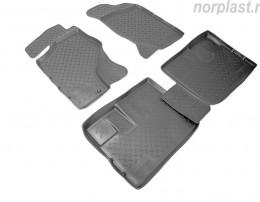 Unidec Ковры салонные для Nissan NP300 (2009) (зад)